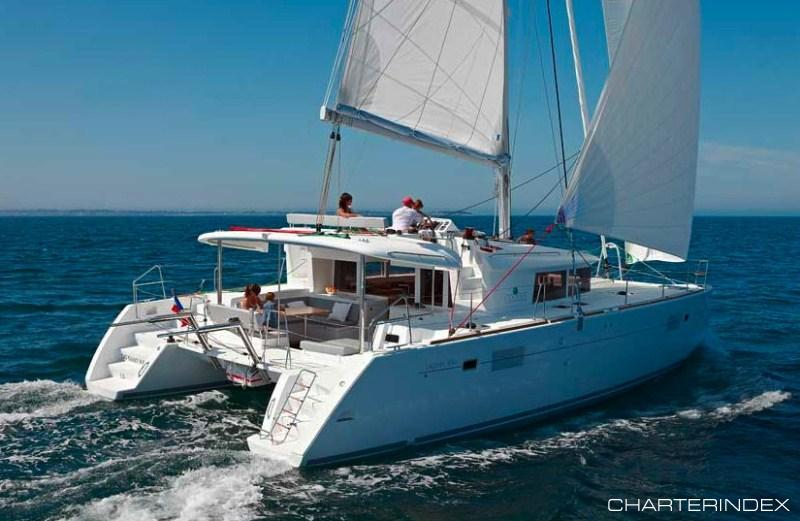 Luxury Charter Catamaran Sailing Yacht Yacht Gypsy Princess