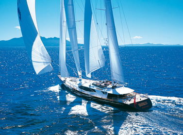 A Luxury Vacation Aboard a Luxury Charter Sailing Yacht