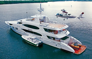 Yacht luxury charter