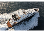 Luxury Charter Motor Yacht Black And White