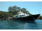 Luxury Charter Power Monohull Yacht Blue Lady
