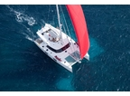Luxury Charter Sailing Yacht In The Wind
