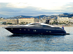 Luxury Charter Motor Yacht Low Profile Of Salcombe