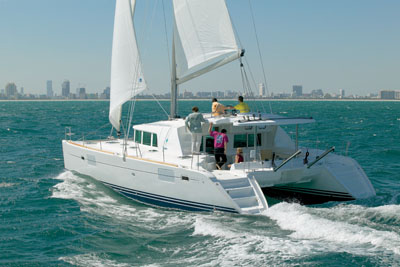 Luxury Charter Catamaran Yacht Miss Yvette