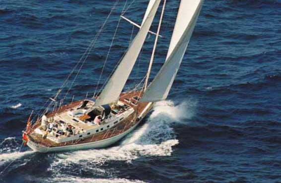 MIRA Luxury Monohull Sailing Yacht Charter Yacht