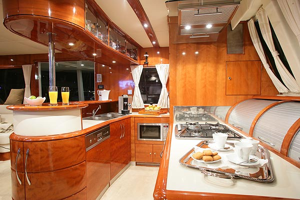 MISTER T Luxury Sail Cat Charter Yacht